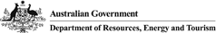 Australian Government - Department of Resources, Energy and Tourism